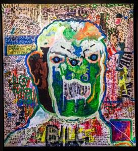 bill, 1m x 1m, mischtechnik 2015