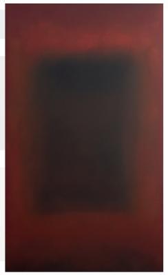 Ohne Titel, Öl auf Leinwand, 170 x 100 cm (2016)