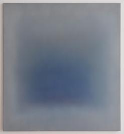 Ohne Titel, Öl auf Leinwand, 110 x 100 cm, 2018
