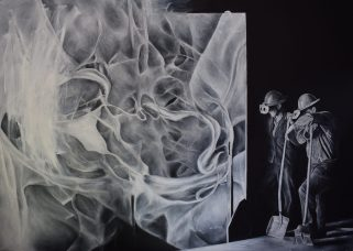 O.T. Öl auf Leinwand, 140 x 100 cm (2017)