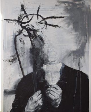 O.T. Öl auf Leinwand 80 x 100 cm (2017)