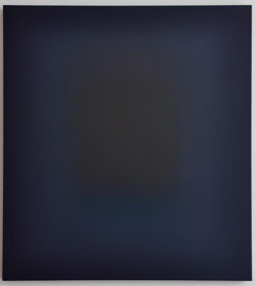 Ohne Titel, Öl auf Leinwand, 100 x 90 cm, 2018